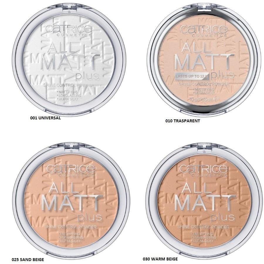 Catrice All Matt Plus Control Powder 10 g (obrázok 1)