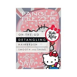 Tangle Teezer Compact Hello Kitty Pink Hairbrush