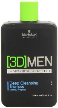 [3D] Men Schwarzkopf Professional [3D] Men Deep Cleansing Shampoo 250 ml
