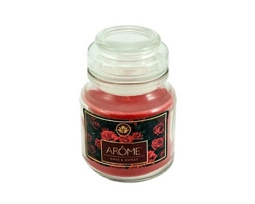 Arôme Rose & Honey Candle 120 g
