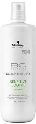 Schwarzkopf Professional BC Bonacure Scalp Therapy Sensitive Soothe Shampoo 1000 ml
