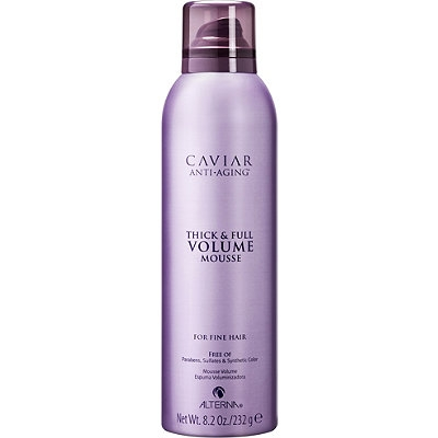 Objem + Jemné vlasy Alterna Caviar Volume Thick & Full Volume Mousse 236 ml