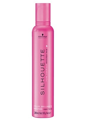 Schwarzkopf Professional Silhouette Color Brilliance Mousse Super Hold tužidlo na vlasy 200 ml