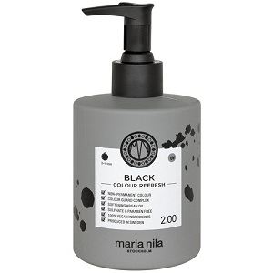 MARIA NILA Maria Nila Colour Refresh Black 2.00 maska s farebnými pigmentami 300 ml