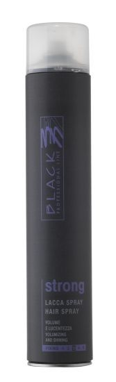 Lesk vlasov Black Professional Line Strong Lacca Hair Spray 750 ml
