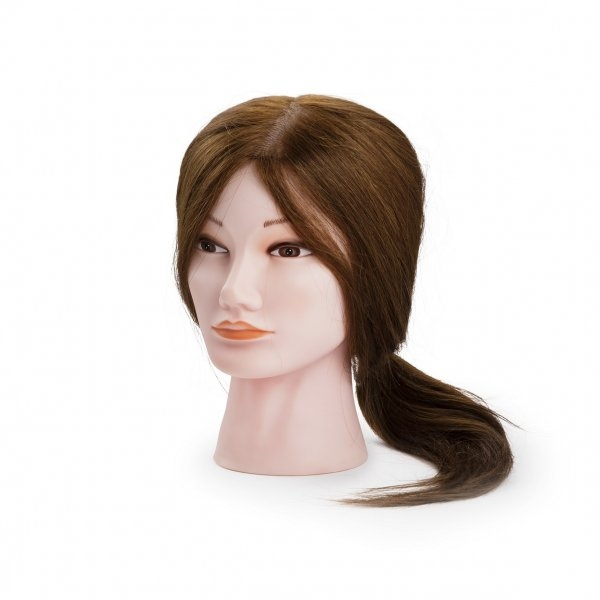 9c768c233 BraveHead Mannequin female M Yaki cvičná hlava s umelými vlasmi 35-40 cm