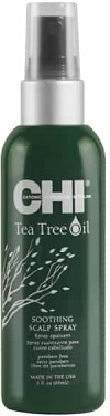 Citlivá pokožka Farouk Systems CHI Tea Tree Oil Soothing Scalp Spray 89 ml