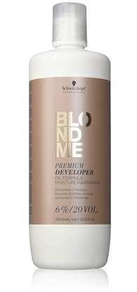 Blondme Schwarzkopf Professional Blondme Premium Care Developer 6% 1000 ml
