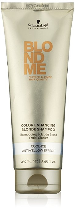 Schwarzkopf Professional Blondme Color Enhancing Blonde Shampoo Cool-Ice 250 ml