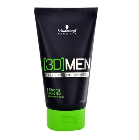[3D] Men Schwarzkopf Professional [3D] Men Strong Gel 150 ml