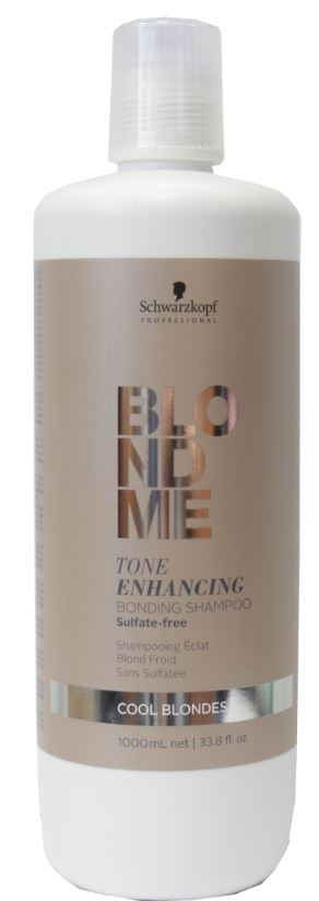 Schwarzkopf Professional Blondme Tone Enhancing Bonding Shampoo 1000 ml