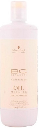 Schwarzkopf Professional BC Bonacure Oil Miracle Light Oil Shampoo 1000 ml