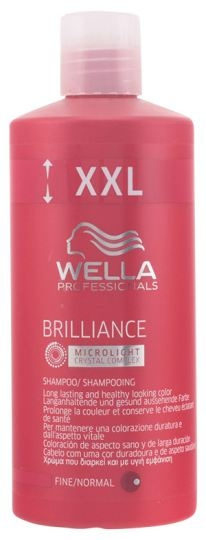 Wella Professionals Brilliance Shampoo Fine / Normal 500 ml