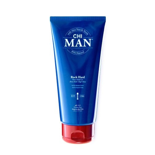 Farouk System CHI Man Rock Hard Firm Hold Gel 177 ml