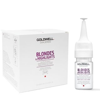 GOLDWELL Goldwell Blondes & Highlights Color Lock Serum 12x18 ml