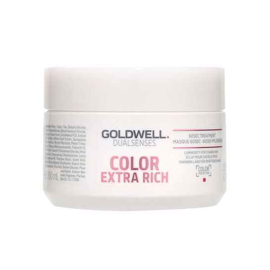 GOLDWELL Goldwell Dualsenses Color Extra Rich 60sec Treatment 200 ml