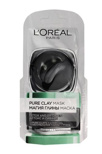 Pleťová kozmetika L'Oréal Paris Pure Clay Detox Mask 6 ml