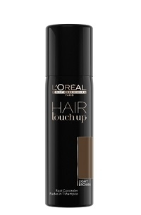 Biele a šedivé vlasy L'Oréal Professionnel Hair Touch Up Light Brown 75 ml
