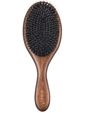 Sibel Decopad oválný dřevěný kartáč na vlasy s kančími a nylonovými  štětinami L 1ks. Značky   KADERNÍCKE POTREBY   Kefy   ... bc159082d8d