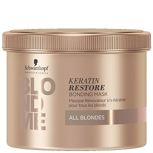 Blondme Schwarzkopf Professional Blondme Keratin Restore Bonding Mask 500 ml