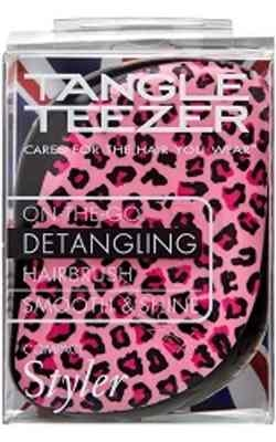 Tangle Teezer Compact Styler Pink Kitty Hairbrush