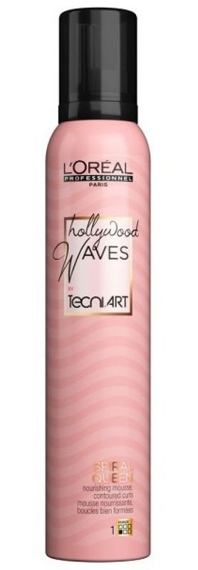 Tecni.Art (styling) L'Oréal Professionnel Tecni.Art Hollywood Waves Spiral Queen pena 200 ml