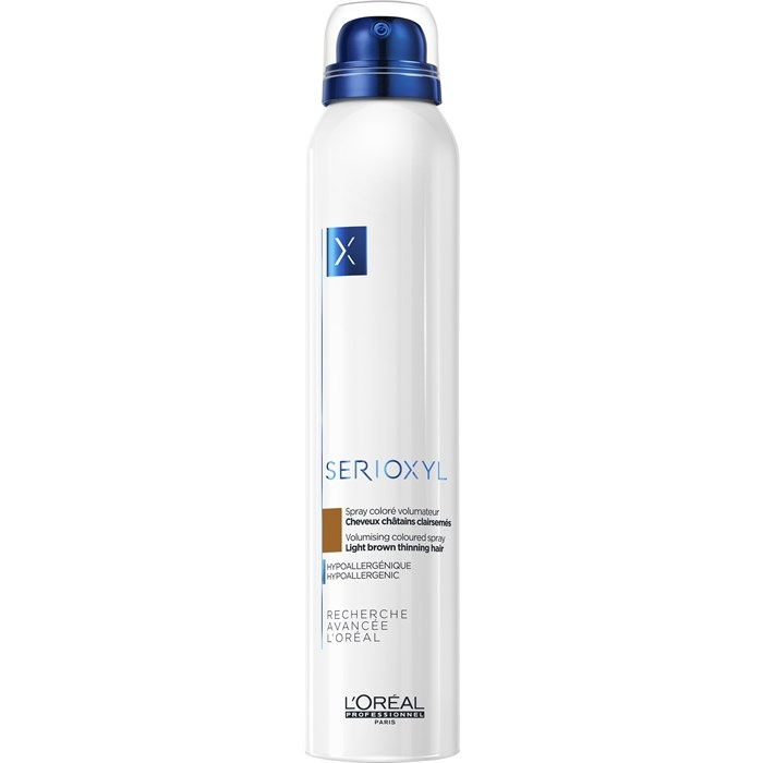 Serioxyl L'Oréal Professionnel Serioxyl Volumizing Coloured Spray Light Brown 200 ml