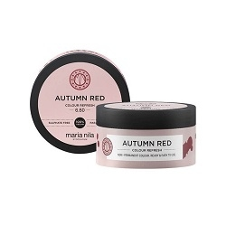 MARIA NILA Maria Nila Colour Refresh Autumn Red 6.60 vyživující maska s farebnými pigmentami 100 ml