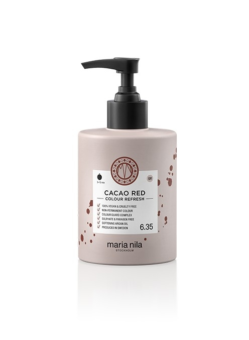 Maria Nila Colour Refresh Cacao Red 6.35 maska s farebnými pigmentami 300 ml