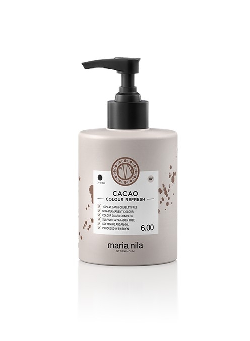 Maria Nila Colour Refresh Cacao 6.00 maska s farebnými pigmentami 300 ml