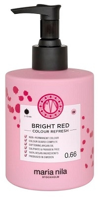 MARIA NILA Maria Nila Colour Refresh Bright Red 0.66 maska s farebnými pigmentami 300 ml