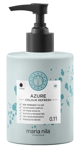 Maria Nila Colour Refresh Azure 0.11 maska s farebnými pigmentami 300 ml