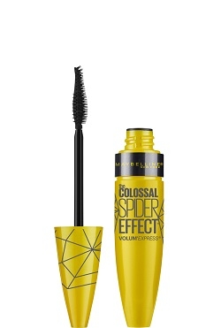 MAYBELLINE Maybelline Collosal Spider Effect Volum Express Black riasenka pre objem 9,5 ml