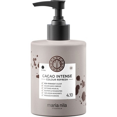 Maria Nila Colour Refresh Cacao Intense 4.10 maska s farebnými pigmentami 300 ml