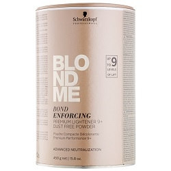 Farbené vlasy  Schwarzkopf Professional Blondme Bond Enforcing Premium Lightener 9+ 450 g