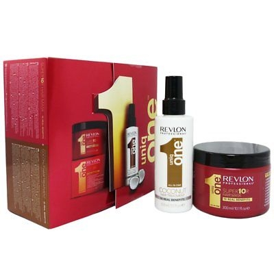 REVLON Revlon Uniq One Coco Treatment 150 ml + Mask 300 ml darčeková sada