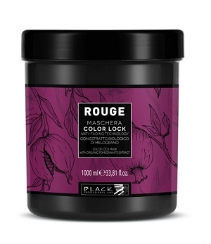 Farbené vlasy Black Professional Rouge Color Lock Mask 1000 ml