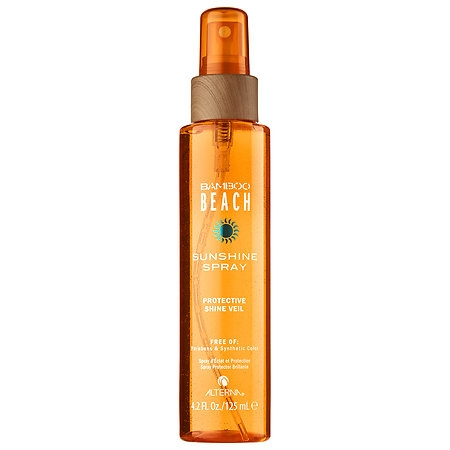 Ochrana pred slnkom Alterna Bamboo Beach Sunshine Spray Protective Shine Veil 125 ml