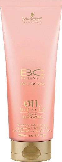 Schwarzkopf Professional BC Bonacure Oil Miracle Rose Oil Hair & Scalp Shampoo 200 ml