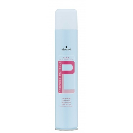 Professionnelle Schwarzkopf Professionnelle Laque Super Strong Hold lak na vlasy 500 ml