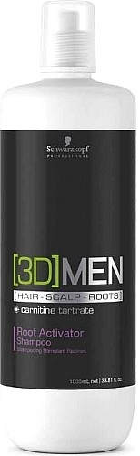 [3D] Men Schwarzkopf Professional [3D] Men Root Activator Shampoo 1000 ml