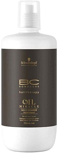 Schwarzkopf Professional BC Bonacure Oil Miracle Gold Shimmer Treatment 750 ml