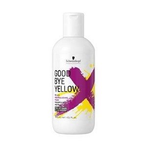 Good Bye Yellow Schwarzkopf Professional Good Bye Yellow Neutralizing Wash Shampoo 300 ml