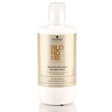 Schwarzkopf Professional Blondme Keratin Restore Blonde Mask 750 ml