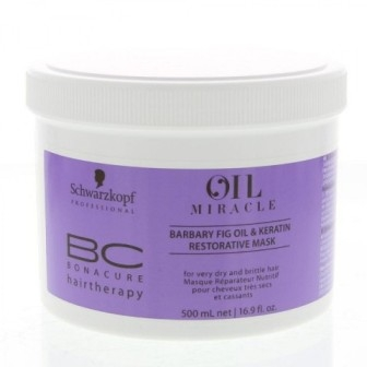 Schwarzkopf Professional BC Bonacure Oil Miracle Barbary Fig Oil & Keratin Mask 500 ml