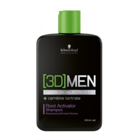 [3D] Men Schwarzkopf Professional [3D] Men Root Activator Shampoo 250 ml