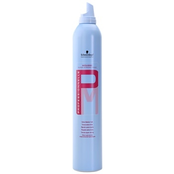 Professionnelle Schwarzkopf Professional Mousse Super Strong Hold penové tužidlo 500 ml