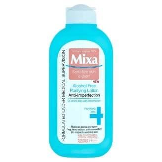 MIXA Mixa Anti-Imperfection Purifying Lotion čistiaca a zmatňujúca pleťová voda 200 ml
