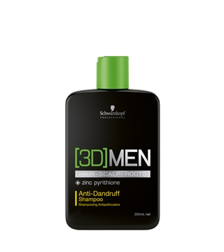 [3D] Men Schwarzkopf Professional [3D] Men Anti-Dandruff Shampoo 250 ml