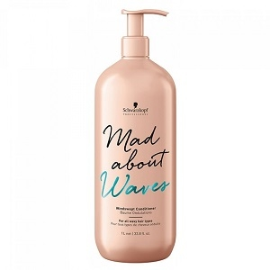 Mad About Curls & Waves Schwarzkopf Professional Mad About Waves Windswept Conditioner 1l